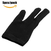 Billiard Cue Glove, Spandex, 3 Fingers, for Snooker, Pack of 1pc, by Delight eShop