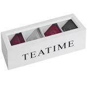 Hill Interiors Tea Time Teabag Box (One Size)