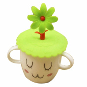 GOOTRADES Silicone Tree Leakproof Coffee Mug Suction Lid Cap Sealed Cup Cover