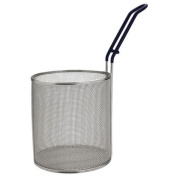 Winco MPN-67, Stainless Steel Small Pasta Boil Baskets, 17cm Diameter Cylindrical Pasta Strainer