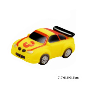 Jutao Plastic Floating Water Bath Squirties Toy For Baby Yellow Car