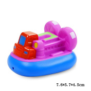 Jutao Plastic Floating Water Bath Squirties Toy For Baby Hovercraft