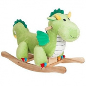 Happy Trails Rocking Dagwood Dragon - Great for the Kids
