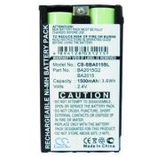 BA2015 BA2015G2 Battery Replacement for Sennheiser G2 2015FM EK1038