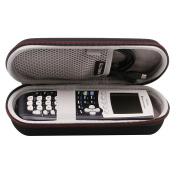 LTGEM EVA Hard Case Travel Carrying Storage Bag for Texas Instruments TI-84 Plus Graphics Calculator