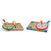 Melissa & Doug Pizza Party and Birthday Cake Bundle