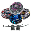 Beyblade Combo 4 Pack Gravity Perseus + Mercury Anubis Blue + Variares + Drago Destroy Black with 2x LL2 Launcher and Rip Cord // SHIPPED AND SOLD FROM US