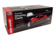 Prestige Collectible Display Show Case for 1/18 1/24 Models by Autoworld AWDC001