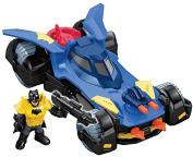 """Imaginext Dht64 """"Batmobile"""" Die Cast Model"""