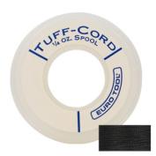 Tuff-cord Beading Cord, Black, Size 1, 98 Yards