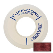 Tuff-cord Beading Cord, Red, Size 1, 98 Yards