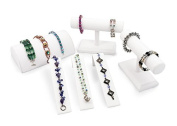 Display Assortment for Bracelets (White) Jewellery Display