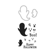 Hero Arts DC189 Boo Stamp & Cut Card Making Kit