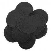 24 pc Black 10cm Felt Circles