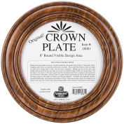 Sudberry House Crown Round Plate, 29cm , Mahogany