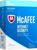 McAfee 2017 Internet Security-10 Devices [Key Code]