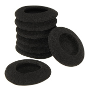 BephaMart 4 Pairs 60mm 2.35 Inch Headset Headphone Earphone Soft Foam Sponge Ear Pads Cover