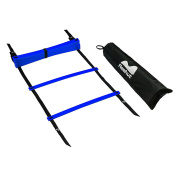 Reehut Agility Ladder w/ FREE USER E-BOOK + CARRY BAG - Speed Training Equipment For High Intensity Footwork