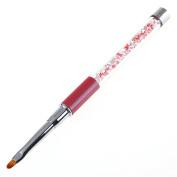 Gotd UV Gel Pen Nail Art Carving Pen Brushes Acrylic Handle Salon Tool