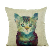 Usstore 1PC Pillow Case Cover Pillowslip Home Decor Cute Animal Cover