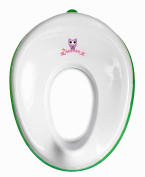 BABYER - Potty Training Seat For Boys And Girls - Tolder toilet potty seat - Ring for storege on wall - Hanger included - Ergonomic design unisex