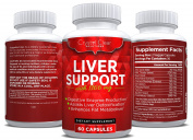 Liver Cleanse and Detox Supplement with Milk Thistle, Best for Liver Health (60) Veggie Capsules