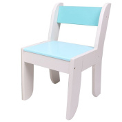 Labebe Chair for Kids- Dark Blue Colour for 1 to 5 Years Old Kids, Pair with Green Hedgehog, Solid Wood, Use for Painting/Reading/Group Play in Classroom & Home, Creative Birthday Gift