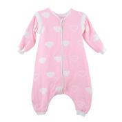 Drasawee Baby Toddler Cotton Straddle Sleeping Bag Anti-kick Blanket Outfit