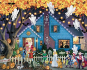 Ghostly Gathering Halloween Jigsaw Puzzle 1000 Piece