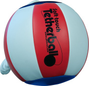 Park & Sun Sports Soft Touch Tetherball with 2.1m Nylon Cord and Clip