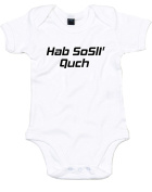 Brand88 - Your Mother Has a Smooth Forehead, Printed Baby Grow