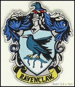 Harry Potter House of Ravenclaw Crest Applique 7cm Patch
