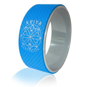 KRIYA Yoga Wheel - Empower your Practise in Comfort, Improve Back Flexibility, Balance, and Core Strength!