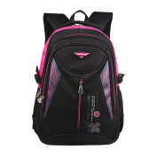 Backpack Book Bag for Students Travelling Hiking Rucksack Daypack for Men and Women