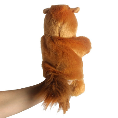 Andux Zone Lovely Animal Hand Puppet, 3 Style to Choose - Hippo, Panda or Squirrel (SO-03)