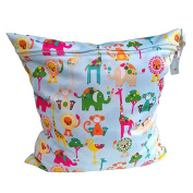 WINOMO Cloth Nappy Wet and Dry Bags Organiser Portable Waterproof Baby Nappy Bag Tote