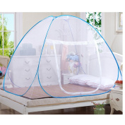 Mosquito Nets, Outdoor Mongolian Yurt Dome Net Free Installation and Folding Nets, Prevent Insect Pop Up Tent Curtains for Beds Bedroom