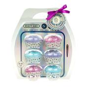 Cupcake Bath Bomb Collection - Strawberry, Blueberry & Blackberry