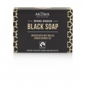 Black Soap ( Bars) with 57% Organic Shea Butter-12 Bars