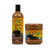 Silicon Mix Moroccan Argan Oil Shampoo + Hair Treatment 470ml Set