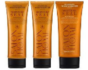 (3 PACK) Charles Worthington Moisture Seal SHAMPOO 2 x 250ml & Charles Worthington Moisture Seal Hair Healer LEAVE IN Conditioner x 200ml