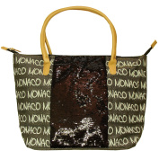 Robin Ruth - Monaco 'Glitters' Handbag - Brown