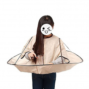 Hifina New Style Hair Cutting Cloak Umbrella Cape Salon Barber Hairdressing Gown Family /Hairdressing Cape