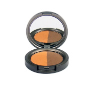 Beauty Without Cruelty Mineral Duo Eyeshadow Pressed Rich Tamarind