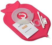 Ultra Enema Bag Kit (3.8l) | Fountain Open top Enema Bag | Silicone Hose (1.5m) | Nozzle | Clamps | Colon Tip (12 FR) | Manual