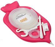 Ultra Enema Bag Kit (1.9l) | Fountain Open top Enema Bag | Silicone Hose (1.5m) | Nozzle | Clamps | Colon Tip (12 FR) | Manual