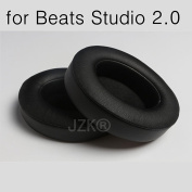 JZK® Leather foam headphones replacement earpads ear cushions pads for Beats by Dr. Dre Studio 2.0 Over-Ear Headphones
