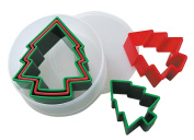 5 Piece Christmas Tree Cookie Cutter Set
