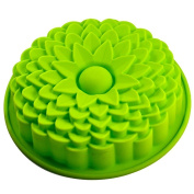 onewiller Sunflower Bread Pie Flan Tart Birthday Party Cake Silicone Mould Pan