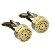 Rxbc2011 Men's bullet French Shirts Cufflinks 1 Pair Set